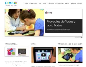 DIME Tecnología desarrolla tecnologías inclusivas para personas con discapacidad y necesidades educativas especiales, España