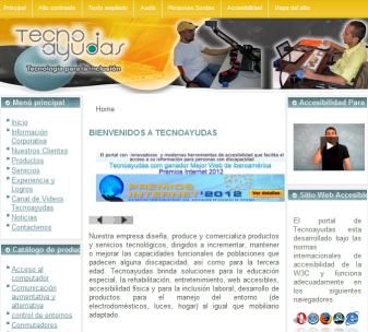 Tecnoayudas.com mejor sitio web de Iberoamérica en accesibilidad Web