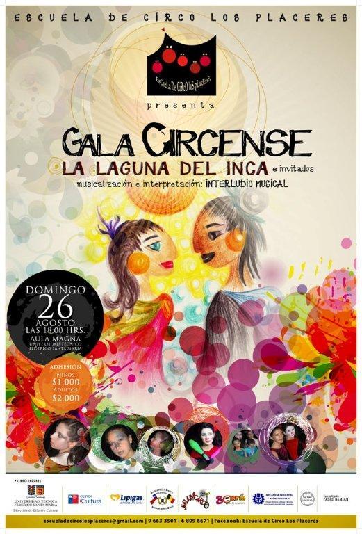 Gala Circense en Aula Magna de la Universidad Santa María apoyada por el Centro de Informática Social de la UTFSM