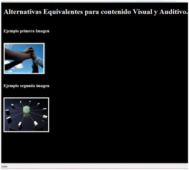 Indicaciones sobre cómo insertar imágenes de forma accesible en la web según requerimientos WCAG 2.0