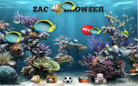 Navegador Zac Browser para niños con TEA