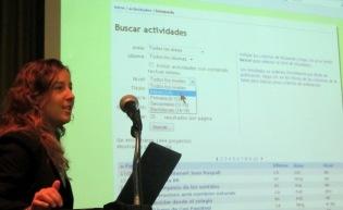Silvana Giuliato de Argentina expuso sobre TICs inclusivas para la educación