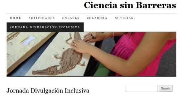 Primera Jornada de Divulgación Inclusiva en España