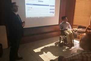 Director de SENADIS presenta el sitio Web de Buenas Prácticas del CEDDIS