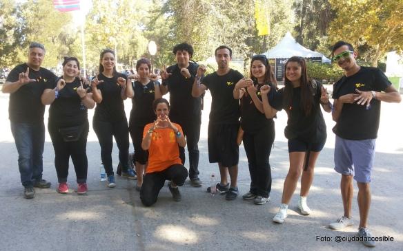 Intérpretes de lengua de señas en Lollapalooza 2015